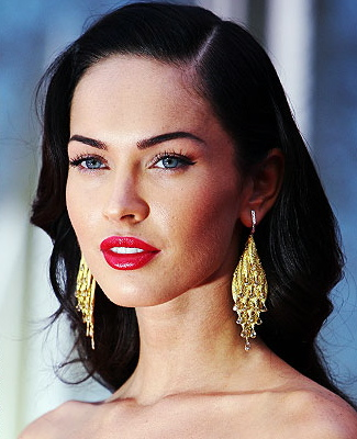 Megan Fox is the perfect visage to use as a template.
