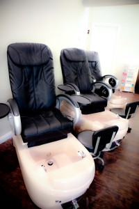 Salon Beauty Bar Pedicure Massage Chairs